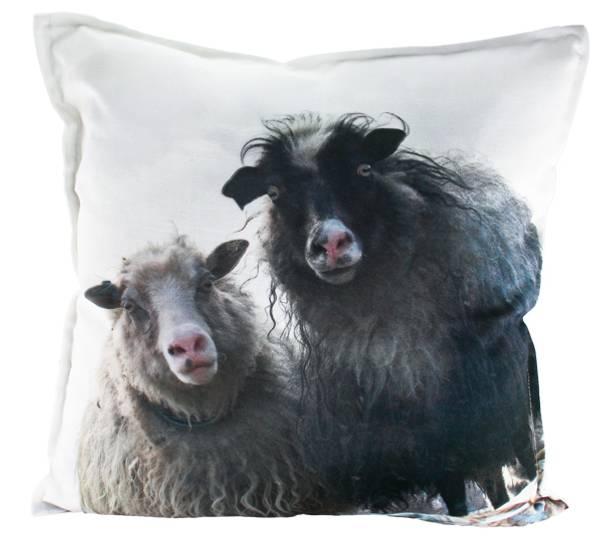 Bilde av Pute med fyll.  2 får.