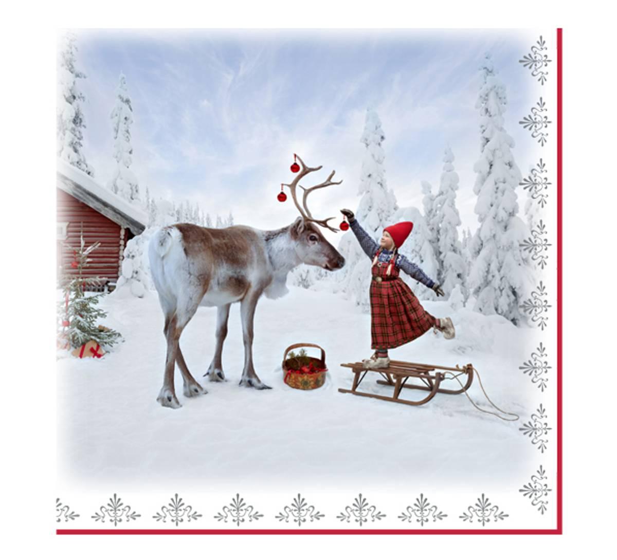 Servietter, Juledrømmen