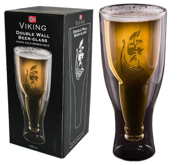 Bilde av Ølglass, dobbeltglass, viking