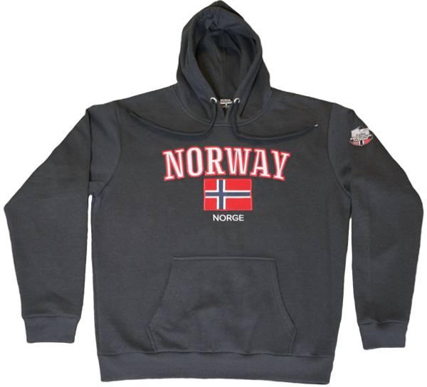 Bilde av Hettegenser mørk grå, Expedition Norway 2469