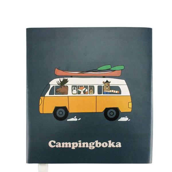 Bilde av Campingboka, mørk blå