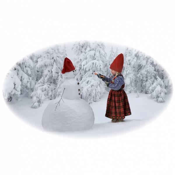 Bilde av Krus, Anja lager snømann- Juledrømmen nr. 2