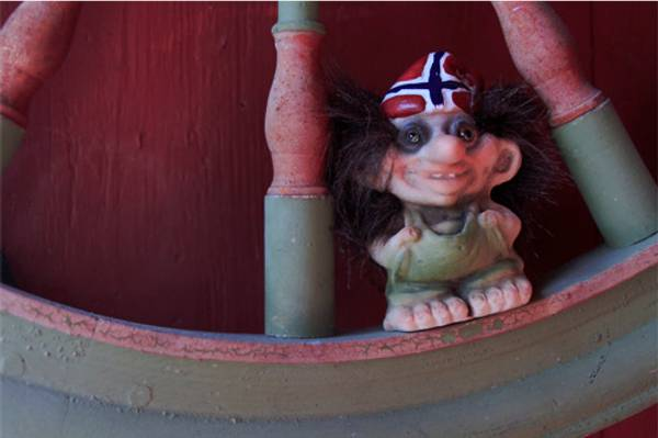Bilde av Flagglue-troll  (Troll nr. 091)