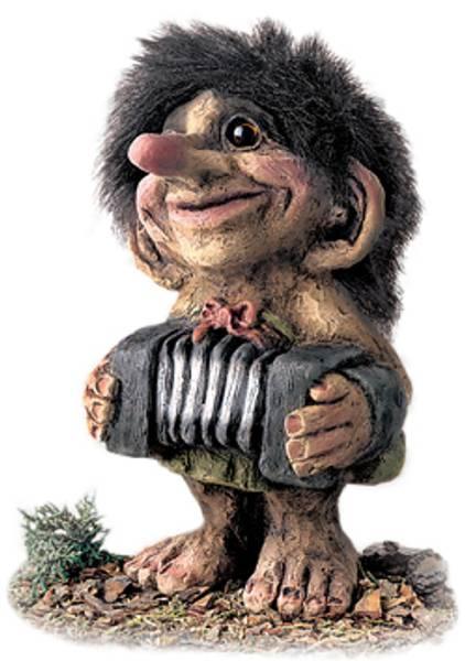 Bilde av Troll med trekkspill (Troll nr. 246)