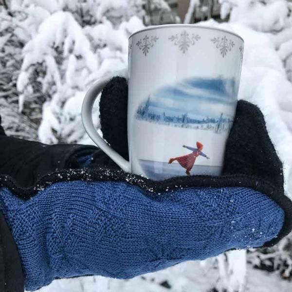 Bilde av Krus, Anja går på skøyter - Juledrømmen nr. 4