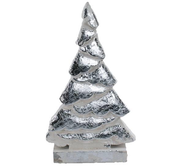 Bilde av Dekortre sølvfarget, lite