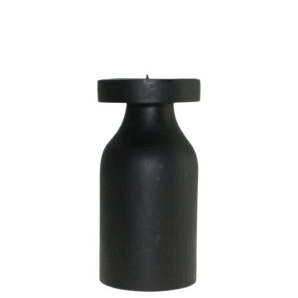 Bilde av Trelysestake, sort, til kubbelys F-design