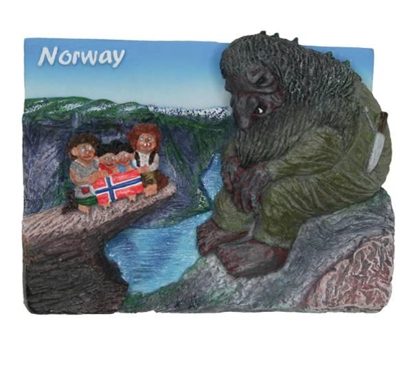 Bilde av Magnet, Trolltunga med troll