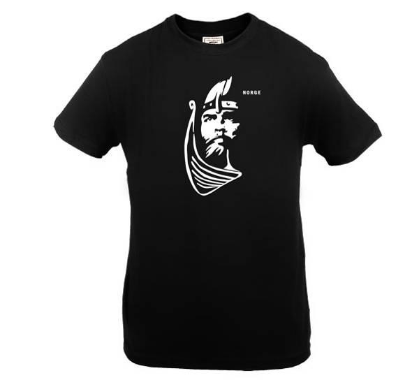Bilde av T-skjorte. Viking, sort