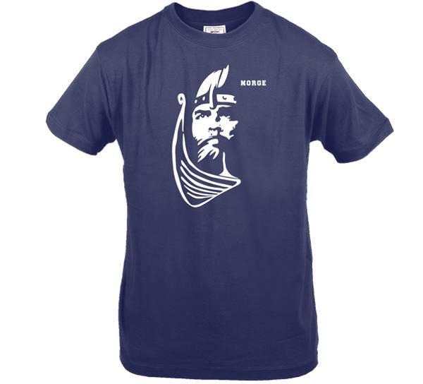 Bilde av T-skjorte. Viking, blå