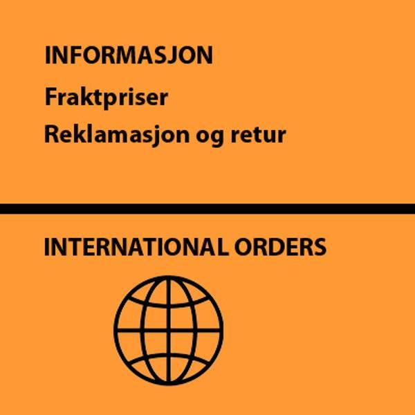 International orders, forsendelse og retur, angrefrist